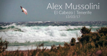 Stormy day in Cabezo with Alex Mussolini
